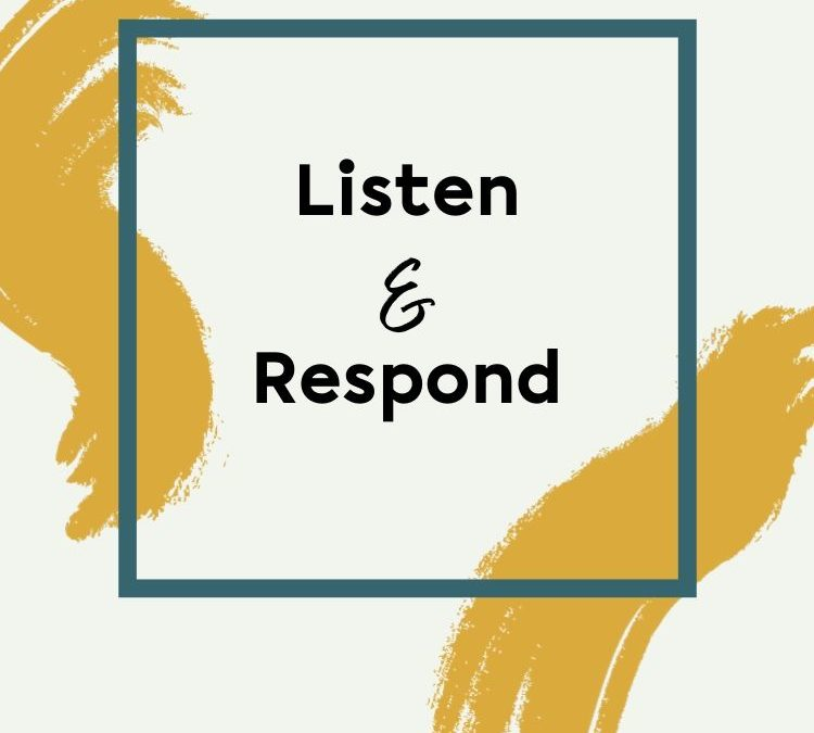 How Well Do You Listen and Respond?