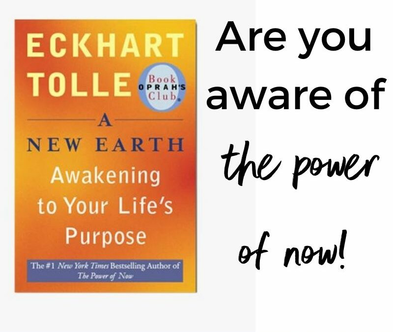 Eckhart Tolle's Book, A New Earth