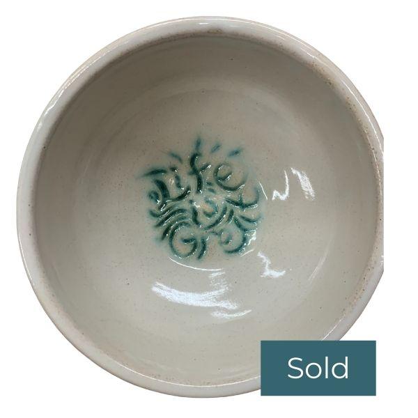 Inspiring ceramic arts cereal bowls love life is great inspirational sarah haykel