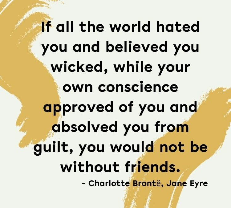 """Anne with an """"E"""" and An Empowering Quote from Charlotte Bronte's Jane Eyre"""