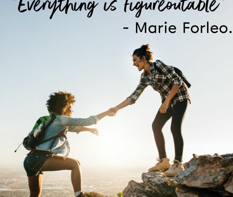 Everything Is Figureoutable – Marie Forleo