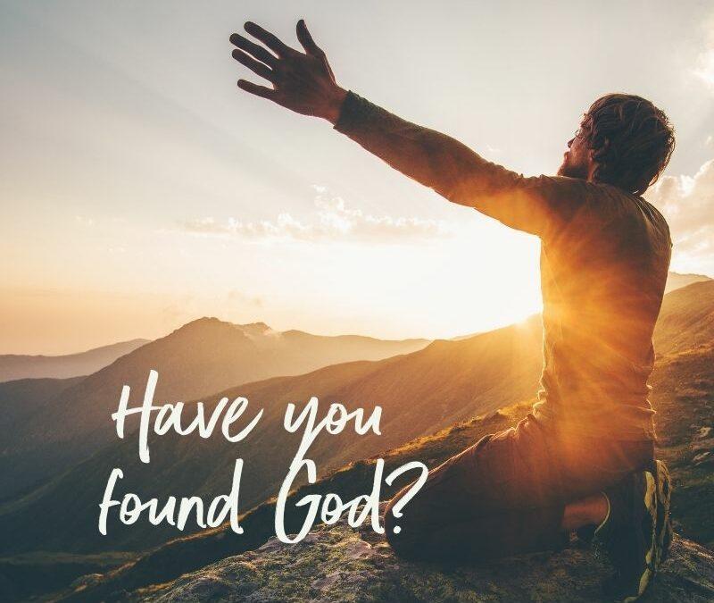 Finding God: My Journey Back to God